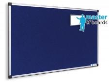 Filz-Pinnboard blau