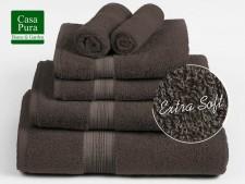 Frottier-Handtücher braun
