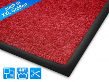 Sauberlaufmatten Monochrom | rot
