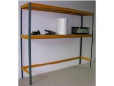 Garagen-Steckregal für schmale Garagen