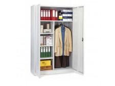 Garderoben-Stahlschrank als Stecksystem