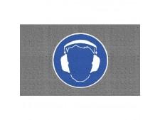 Antirutschmatten `Gehörschutz benutzen´