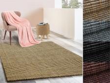 Jute-Teppich Urbano | Bouclégarn | 6 Größen | 4 Farben