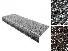 Sicherheits-Stufenmatte für Aussenbereiche | Grau oder Braun