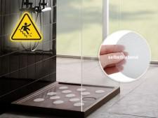 Antirutsch Klebepunkte Nasszonen | transparent | selbstklebend