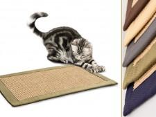 Kratzteppich für Katzen | Sisal | Verschiedene Bordürenfarben