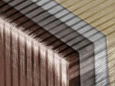 Metallic Tischdecke