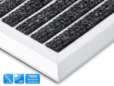 Optimum Mat | Alumatte mit Teppicheinlage