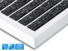 Alu-Türmatte | Optimum Mat | Textilfaser-Rips