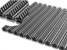 Aluflex SR Brush Schmutzschleuse als Zuschnitt für tiefere Rahmen