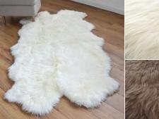 Lammfell Napier | Premium-Qualität | 180 cm | 2 Farben