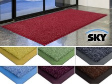 Schmutzfangmatte SKY Color | Farbiger Gummirand | 7 Farben