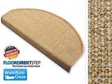 Sisal-Stufenmatte Sylt kork