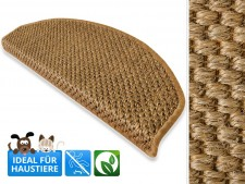 Sisal-Stufenmatten Tiger-Eye natur