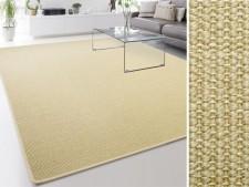 Sisal-Teppich Sylt | Ivory | Gekettelt | Rechteckige oder runde Ausführung