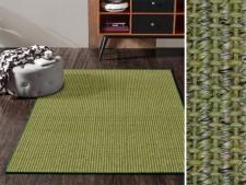Sisal-Teppiche grün