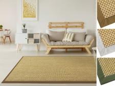 Sisal-Teppich mit Bordüre | Tiger-Eye