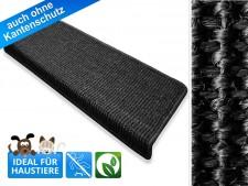 Sisal-Stufenmatten | Pure Nature | rechteckig | schwarz