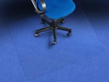 Teppich-Bodenschutzmatte | Transparent | Aus Recycling-PET