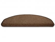Stufenmatten-Set braun