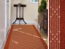 Teppich-Läufer terra-gemustert