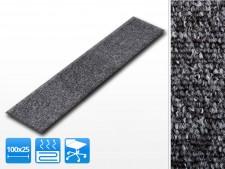 Teppichdielen grau