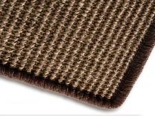 Teppiche aus Sisal tabakfarben