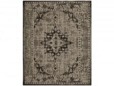 Flachgewebter Teppich Vintage | Beige | 4 Größen