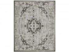 Flachgewebter Teppich Vintage | Grau | 4 Größen