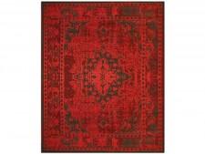 Flachgewebter Teppich Vintage | Rot | 4 Größen