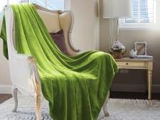Wohndecke Grün