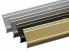Stufenkantenprofil Integral | Form: L | 30x20 mm | 3 Längen | 4 Farben | Vorgebohrt